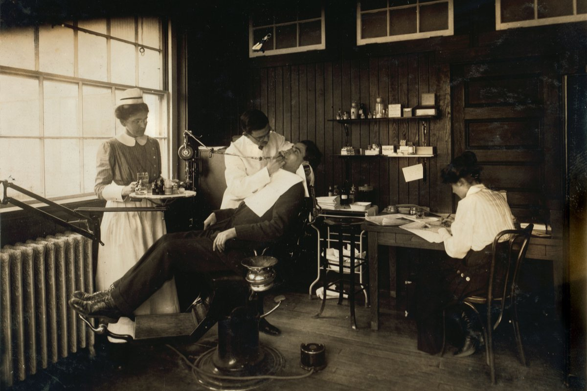 A história da odontologia no mundo